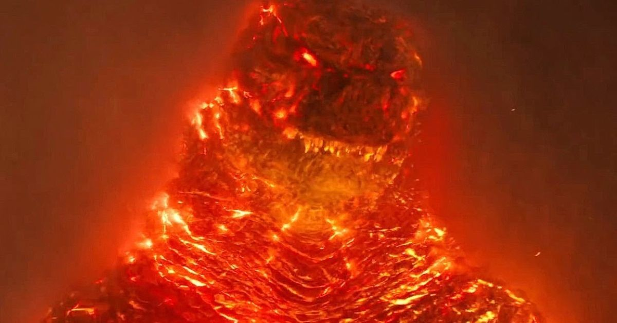 Burning Godzilla King of the Monsters