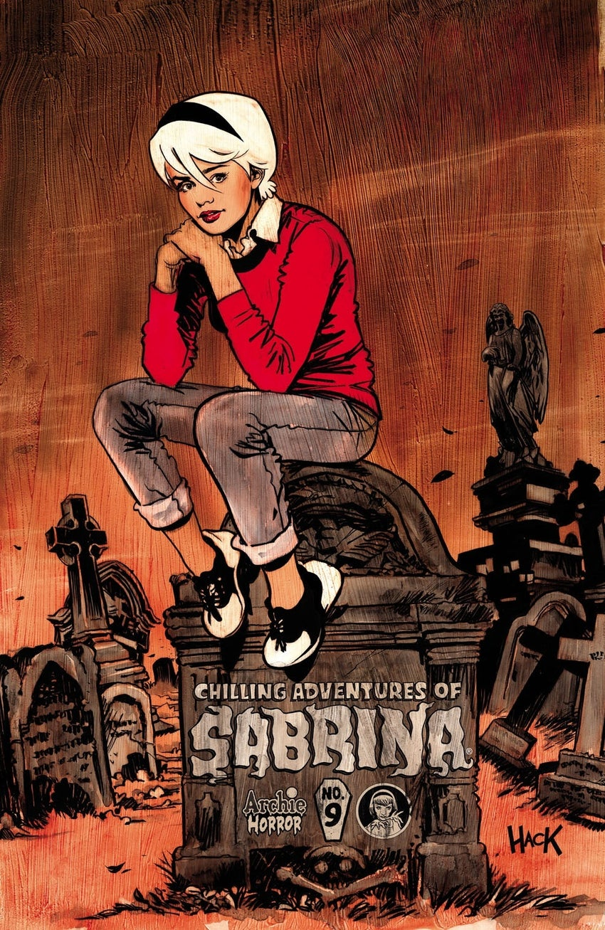 chilling adventures of sabrina 9 variant