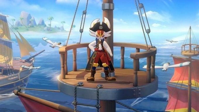 cinderace pirate hed