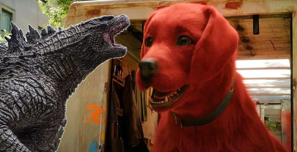 Clifford Godzilla