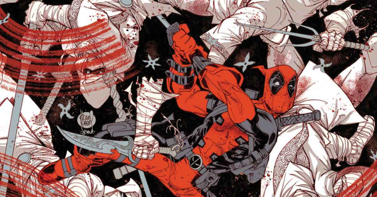 Comic Reviews - Deadpool Black White and Blood #1