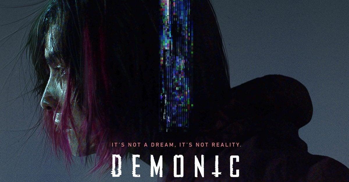 demonic movie poster header 2021