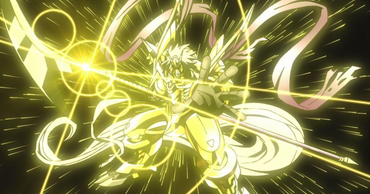Digimon Adventure CresGarurumon Mega Evolution Anime Reboot