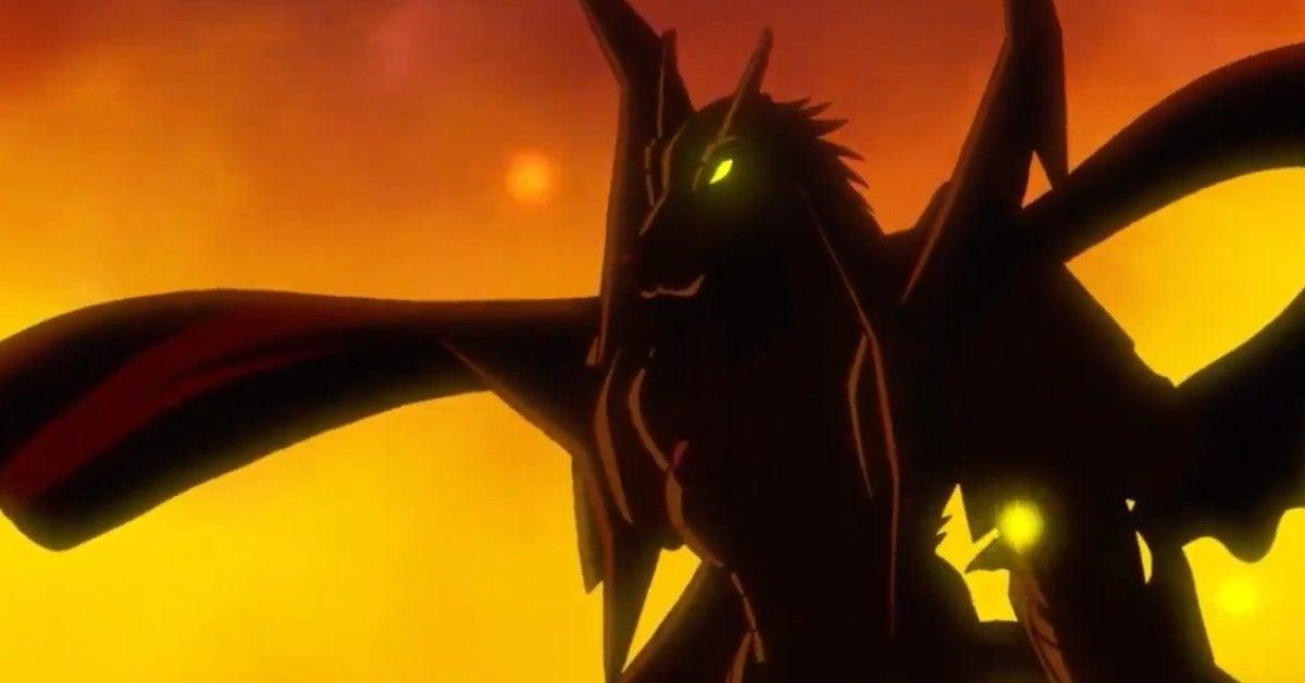 Digimon Adventure CresGarurumon Mega Evolution Promo