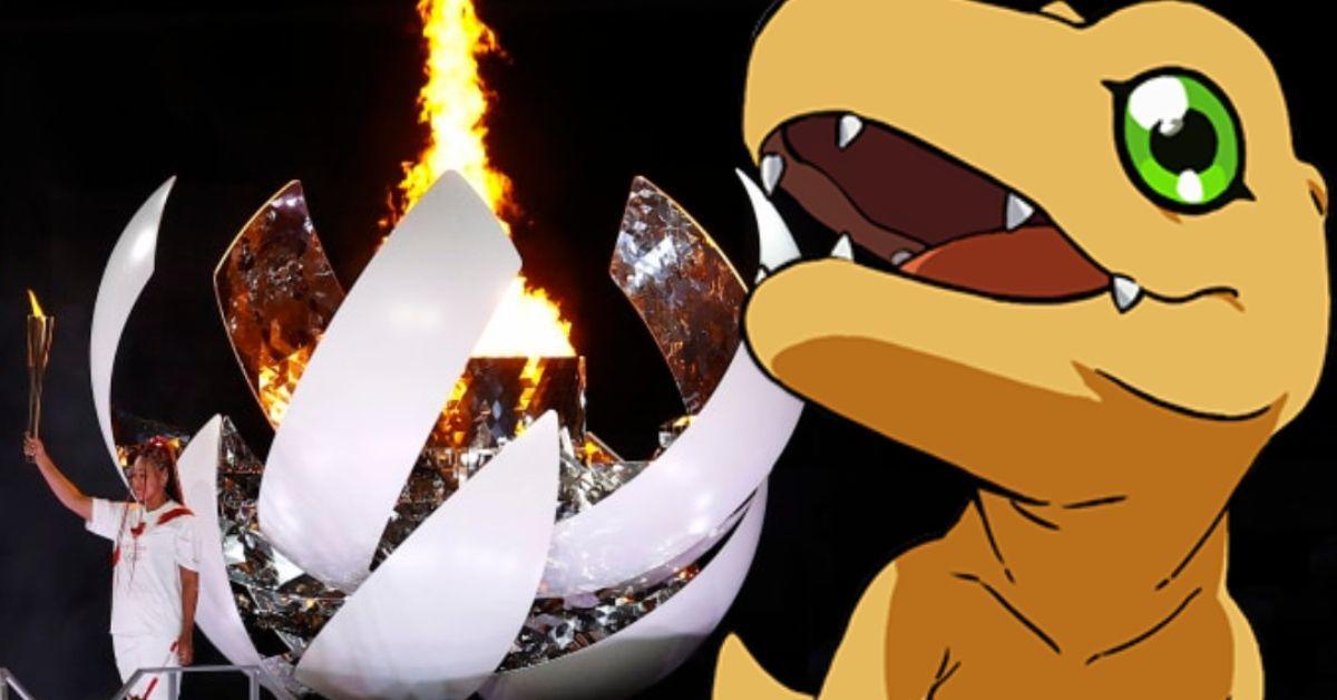 Digimon Adventure Tokyo Olympics Torch Lighting Bolero De Ravel Cameo