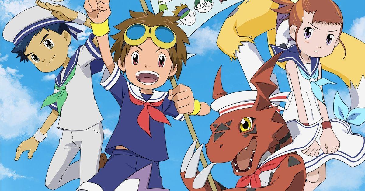 Digimon Tamers 20th Anniversary Visual