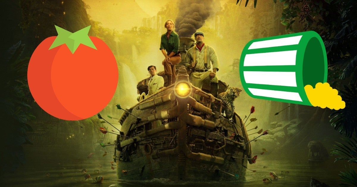 Disney Jungle Cruise Reviews Rotten Tomatoes Score