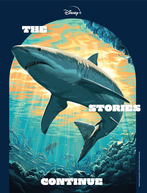 disney plus stories continue magazine sharkfest