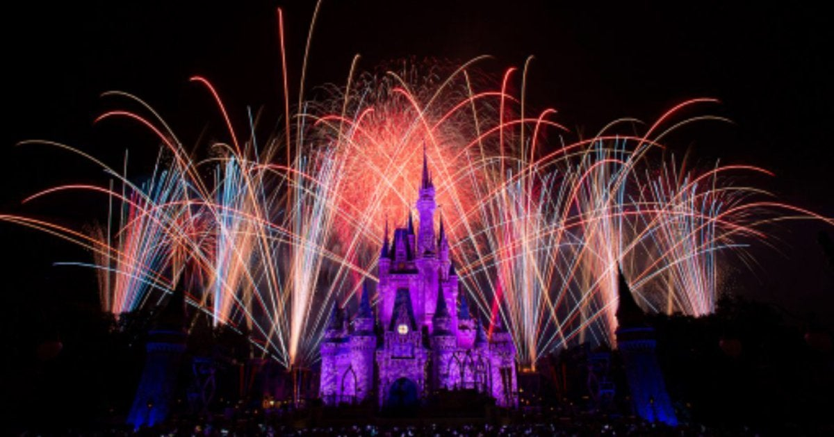 Disney World Fireworks Return Greeting Change