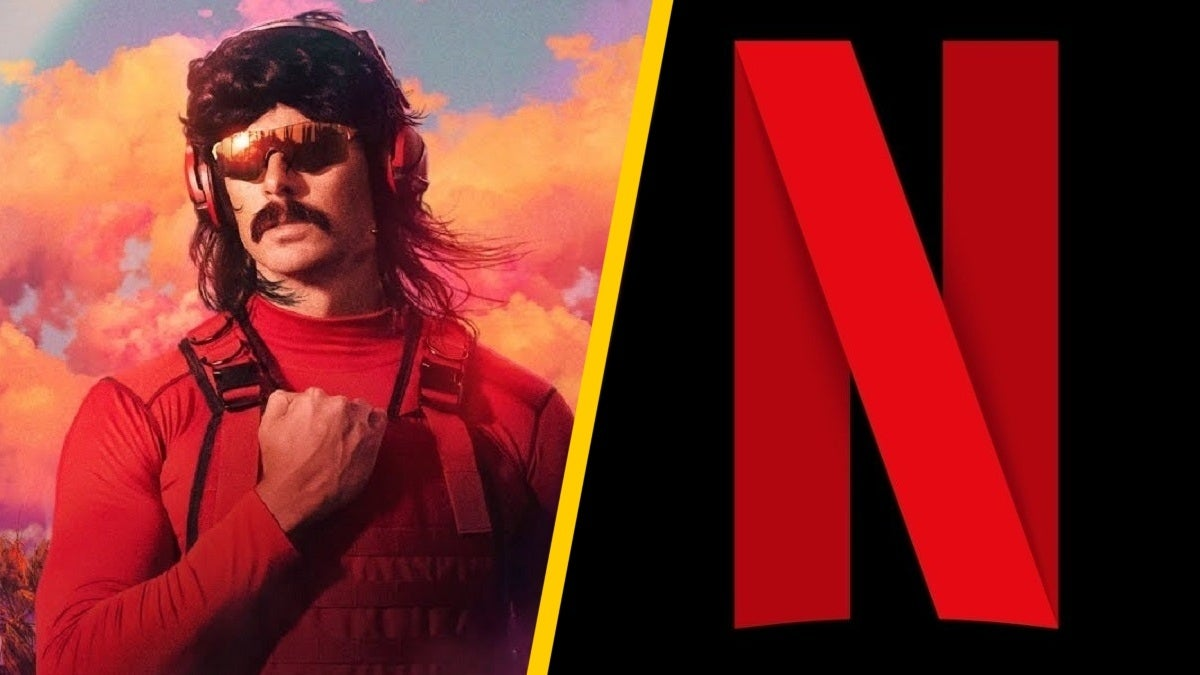 Dr Disrespect Netflix