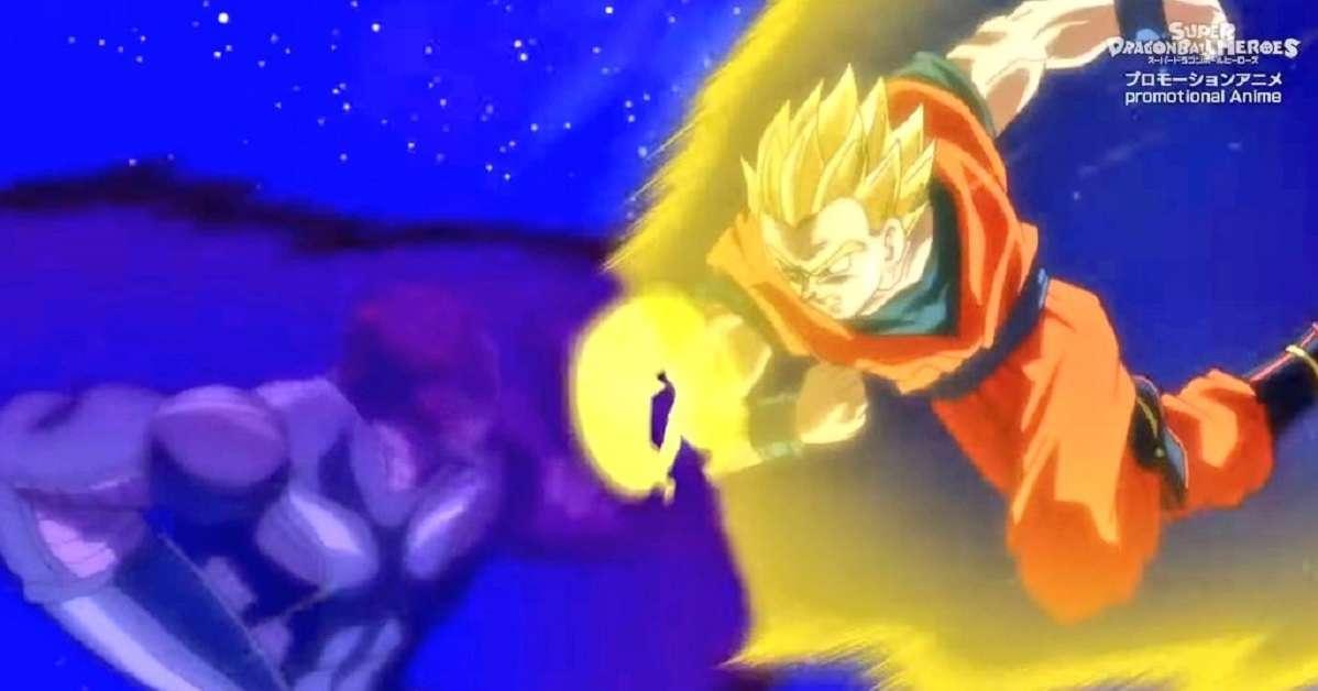 Dragon Ball Heroes Gohan Wheelo