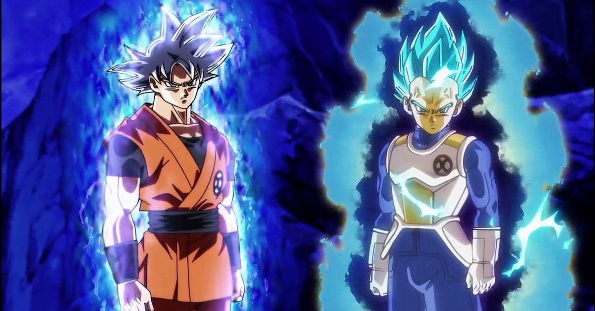 Dragon Ball Heroes Super Reference Goku Vegeta Scenes