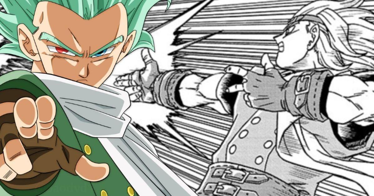 Dragon Ball Super Manga Granolah New Attack Aim Assist Arrow Spoilers