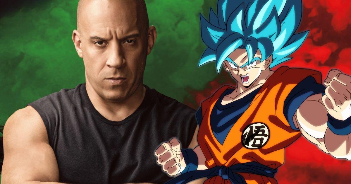 Dragon Ball Vin Diesel Fast and Furious F9 Goku