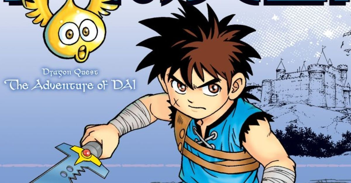 Dragon Quest The Adventure of Dai Viz Media Manga