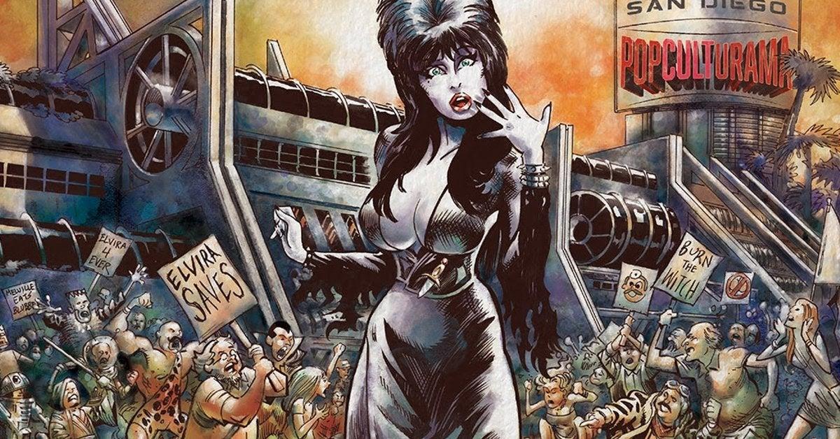 elvira the wrath of con kickstarter comic book