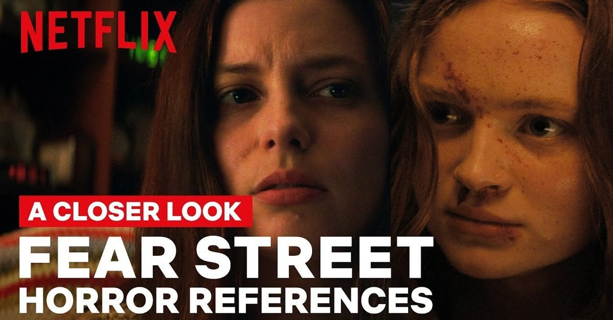 fear street movies netflix horror references explained easter eggs