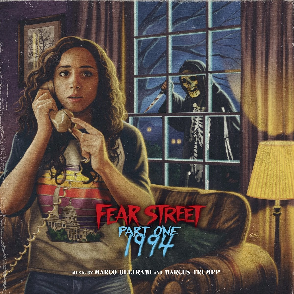 fear street part 1 record soundtrack cover