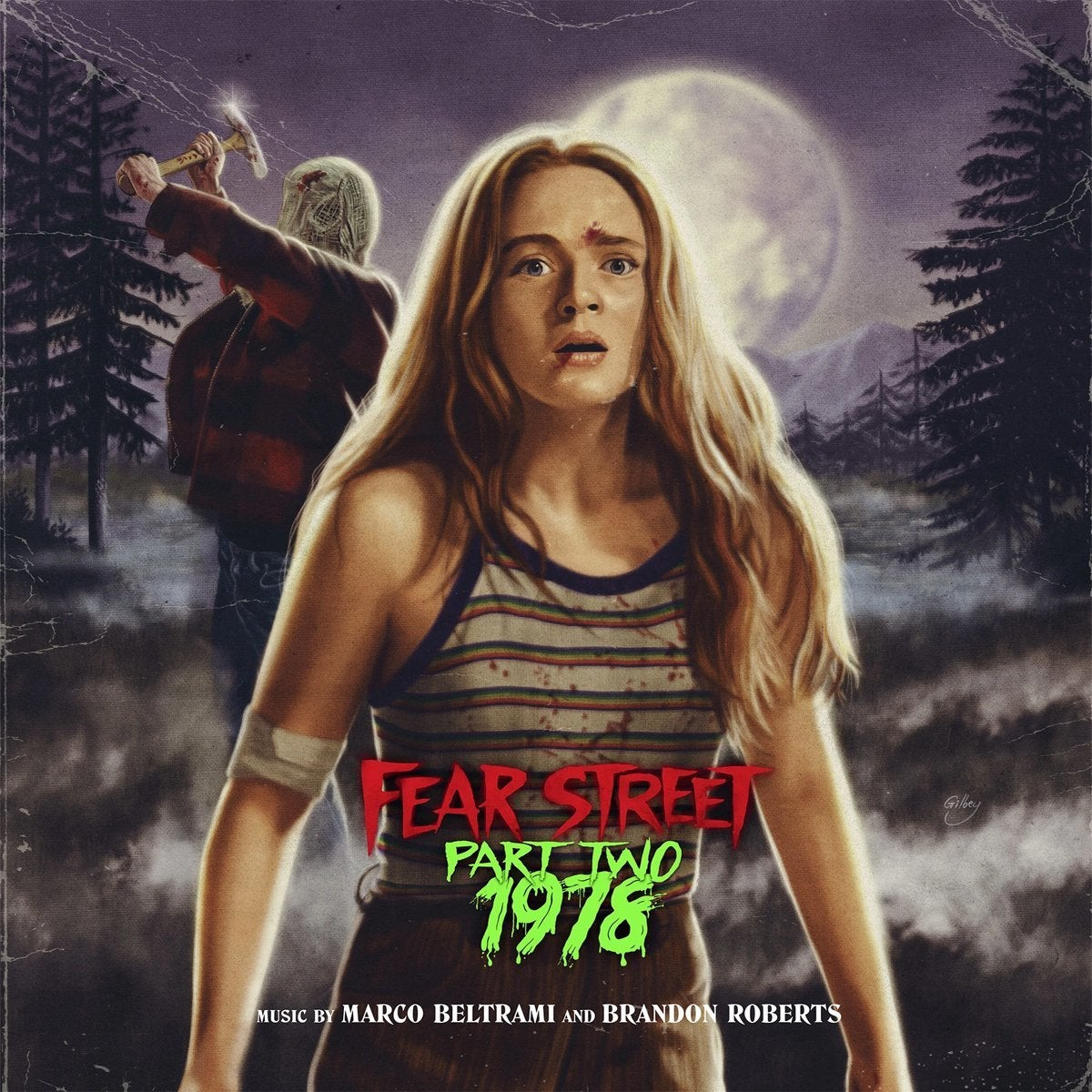 fear street part 2 record soundtrack cover