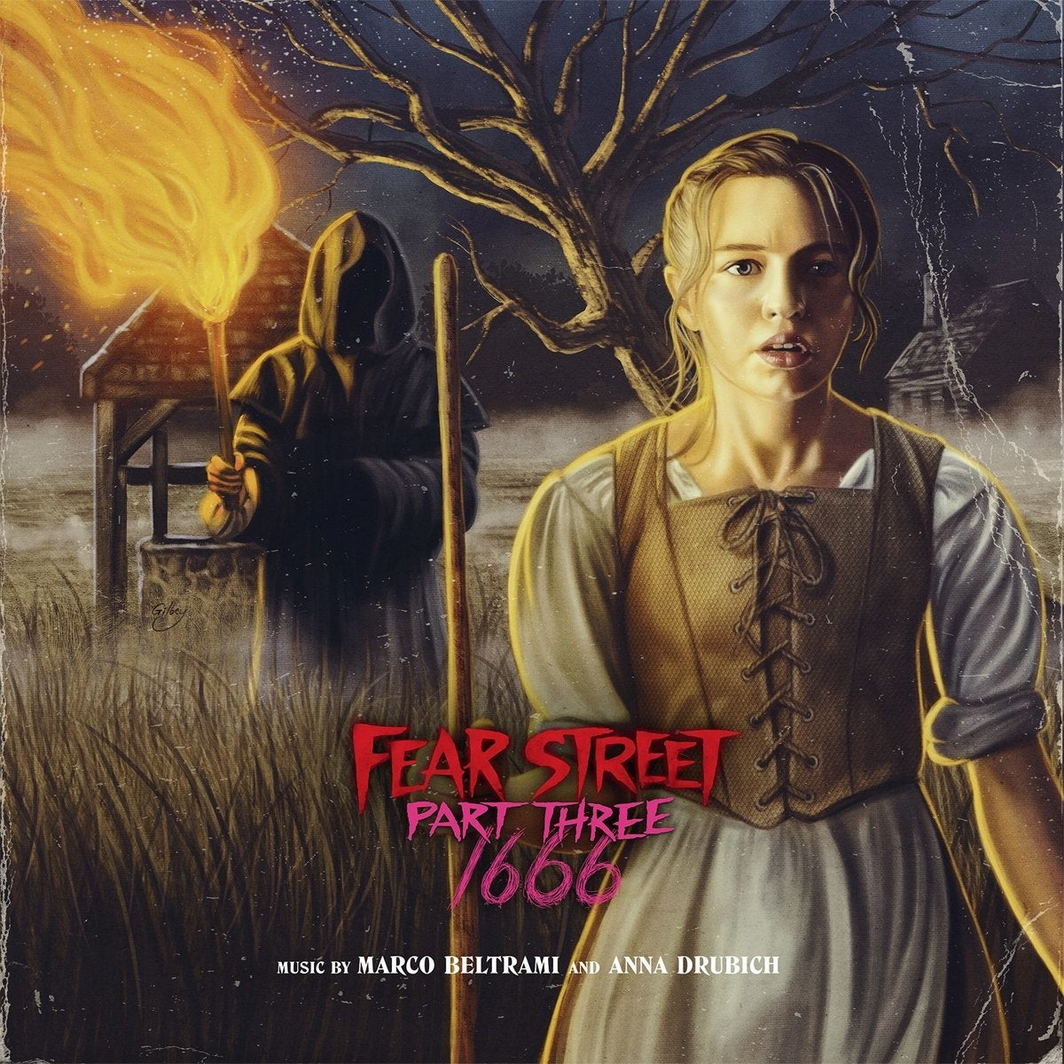 fear street part 3 record soundtrack cover