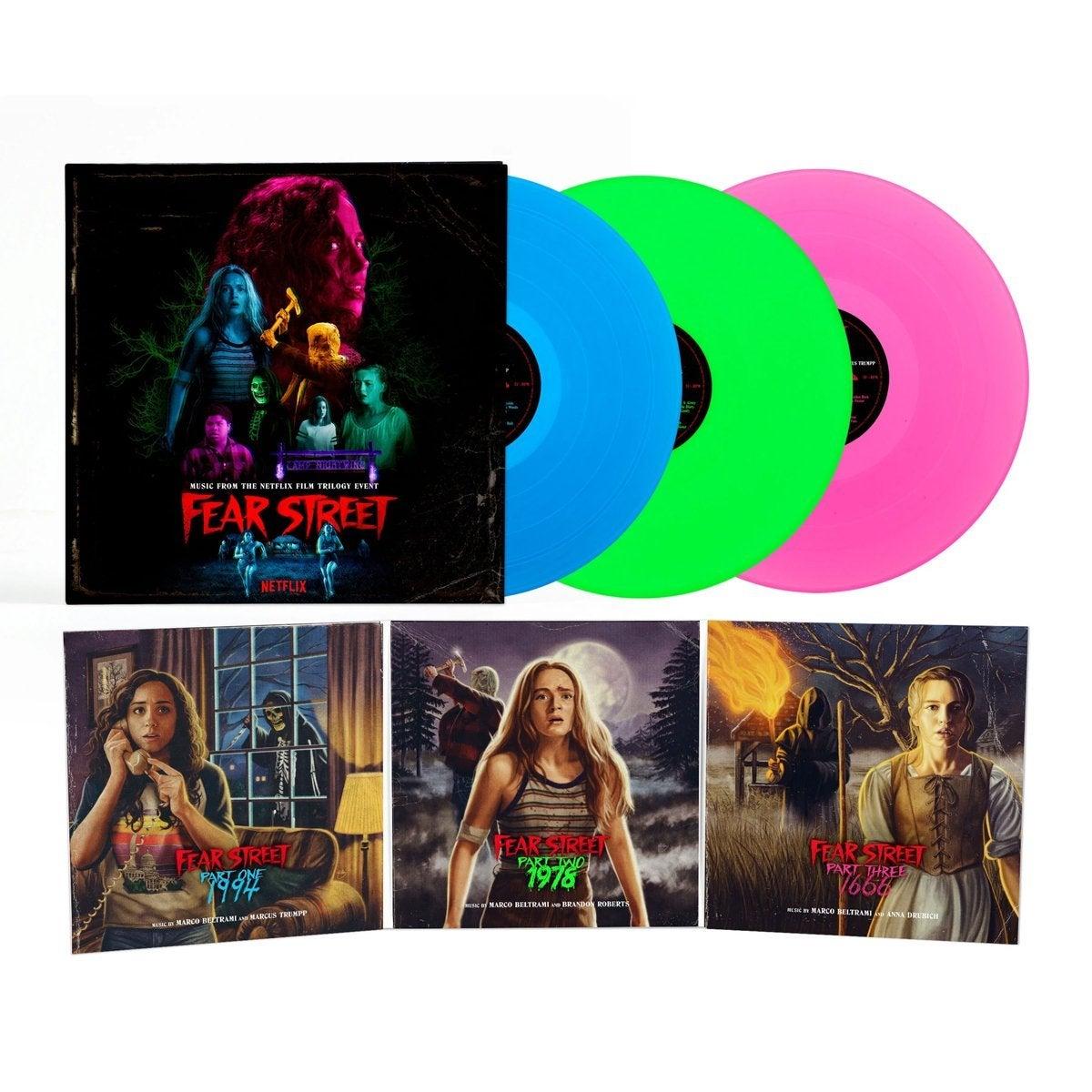 fear street trilogy soundtrack score vinyl record photo