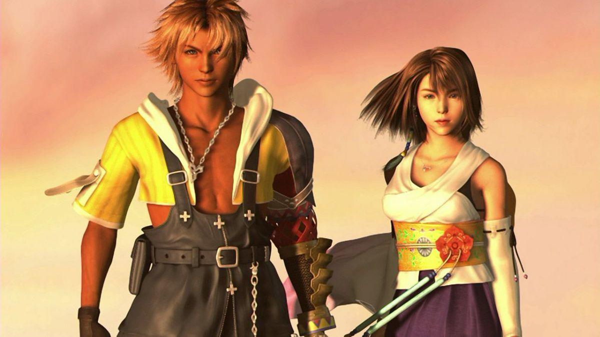 Final Fantasy X copy