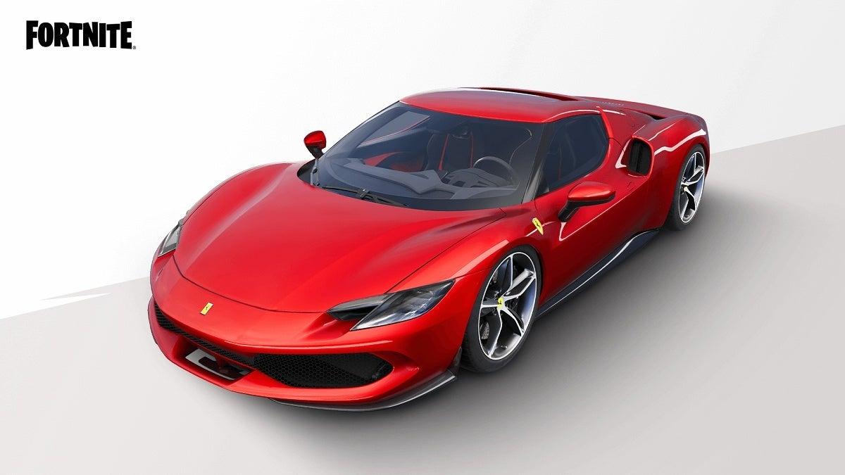 Fortnite Ferrari
