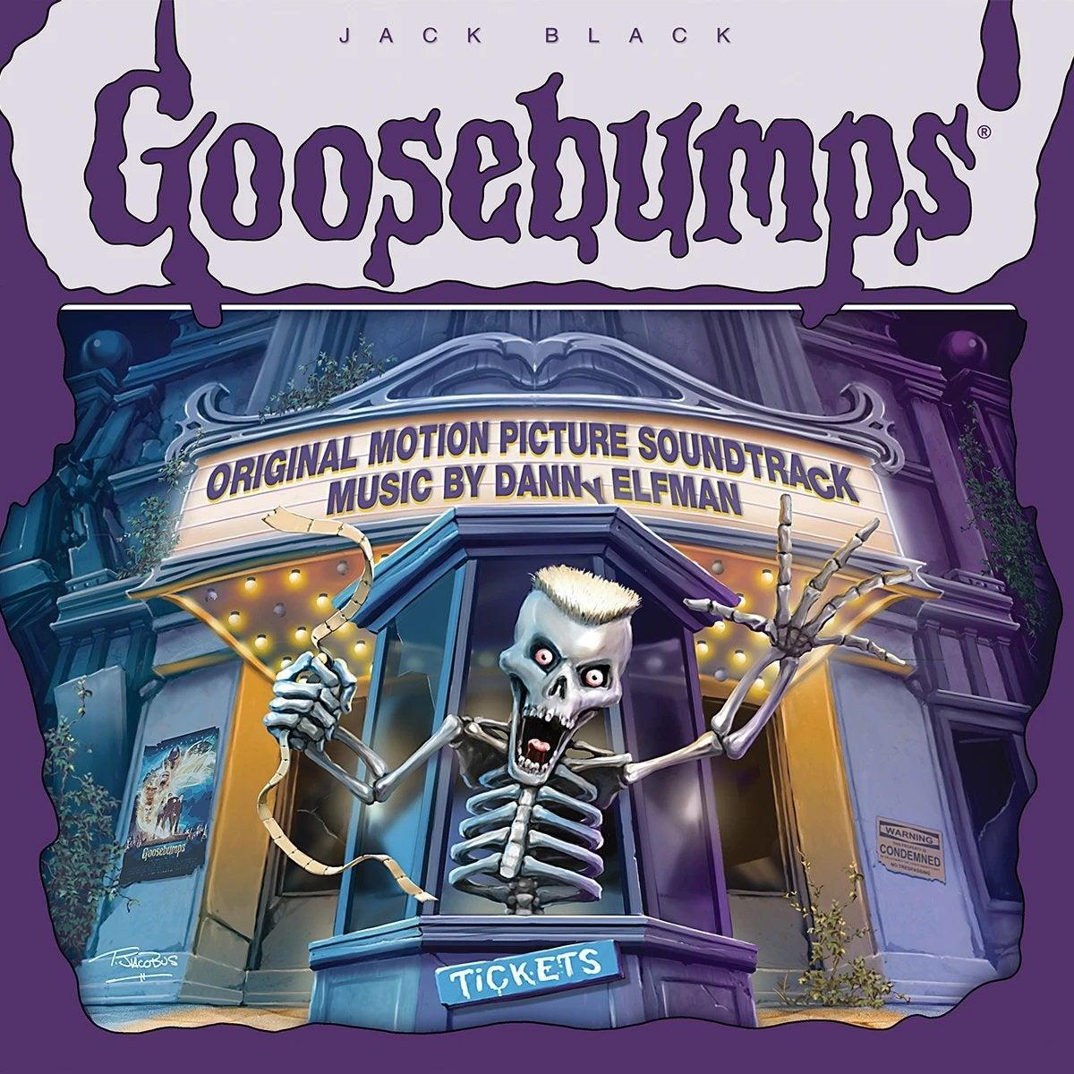 goosebumps soundtrack cover movie score record