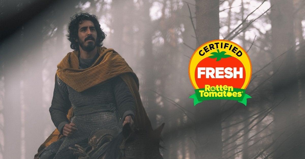 green knight certified fresh rotten tomatoes