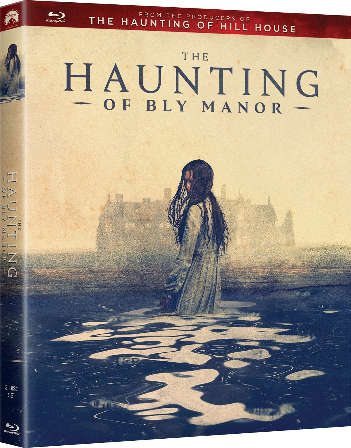 haunting of bly manor blu ray cover