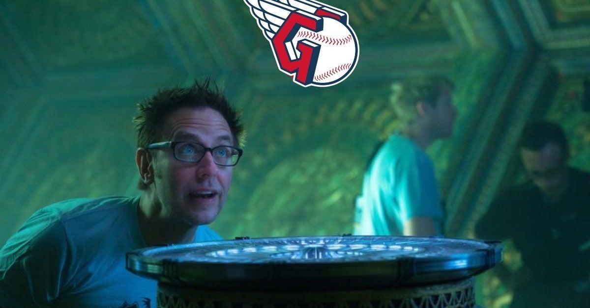 james gunn guardians logo reaction
