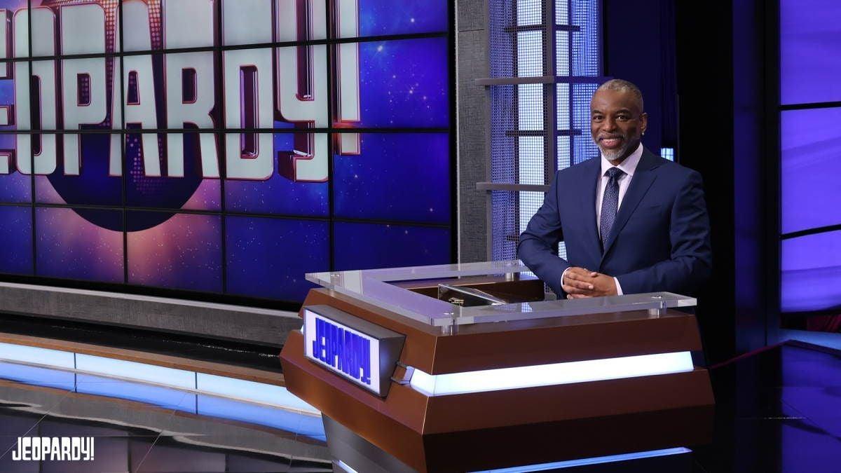 Jeopardy Host LeVar Burton