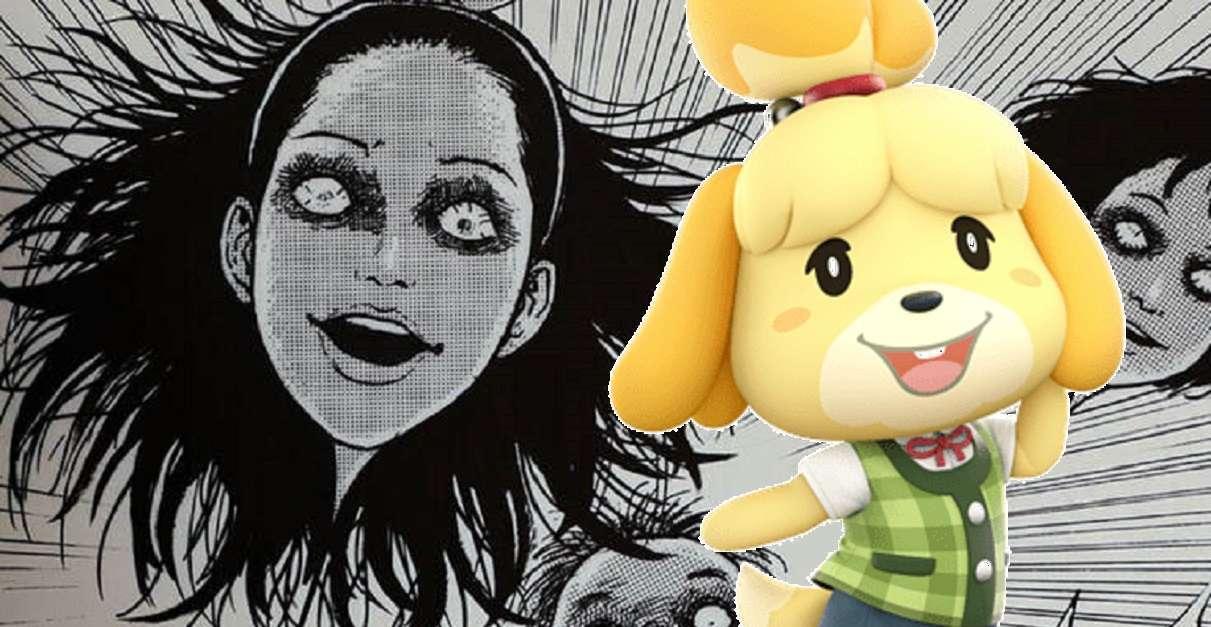 Junji Ito Animal Crossing