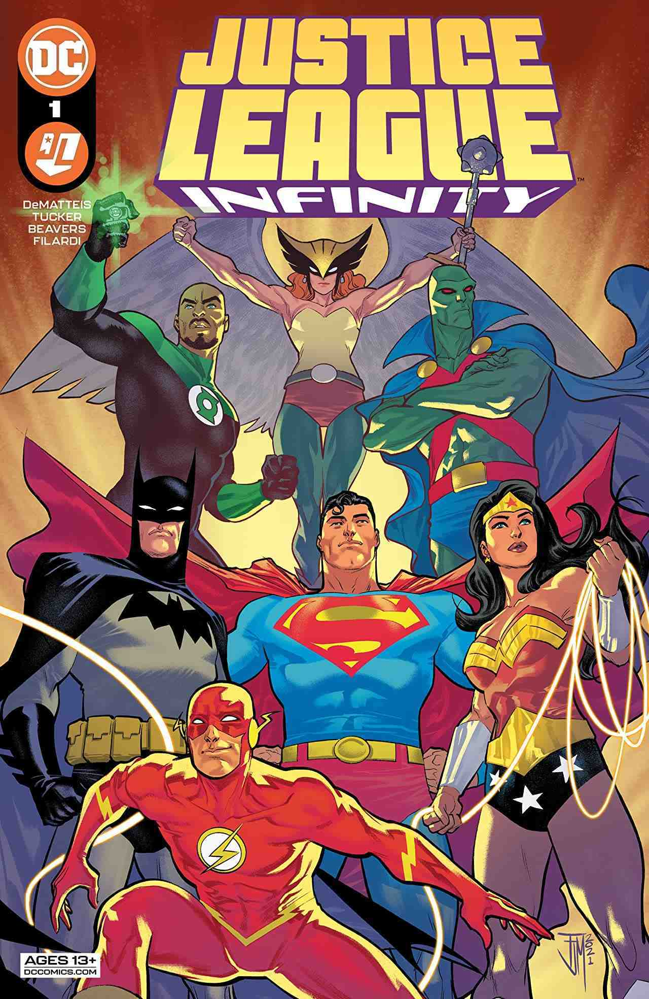 Justice League Infinity # 1