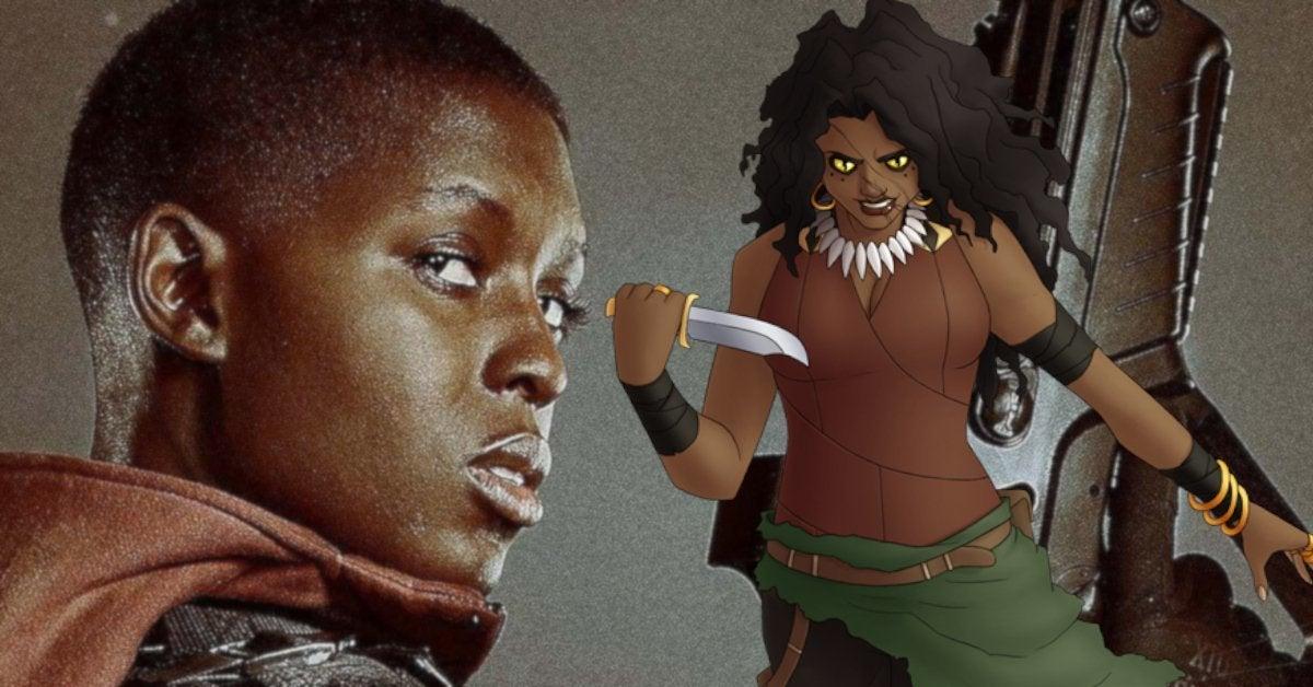 Karven The Hunter Jodie Turner Smith Marvel Calypso Cast