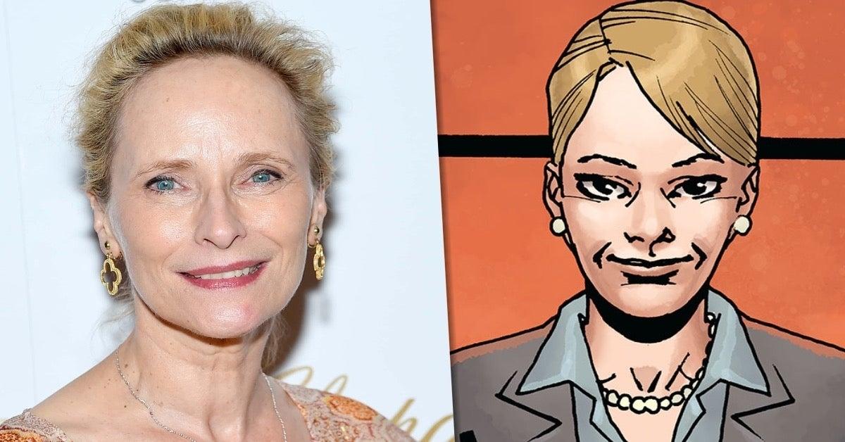Laila Robins Governor Pamela Milton Walking Dead comicbookcom