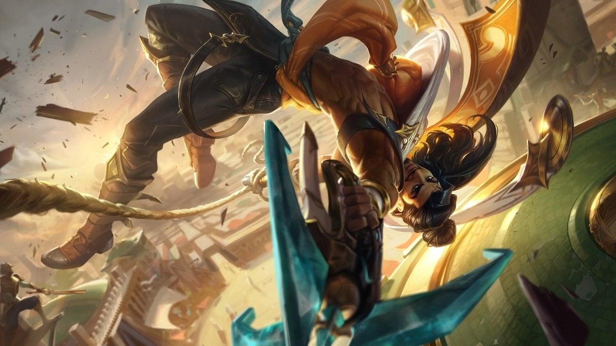League of Legends Akshan