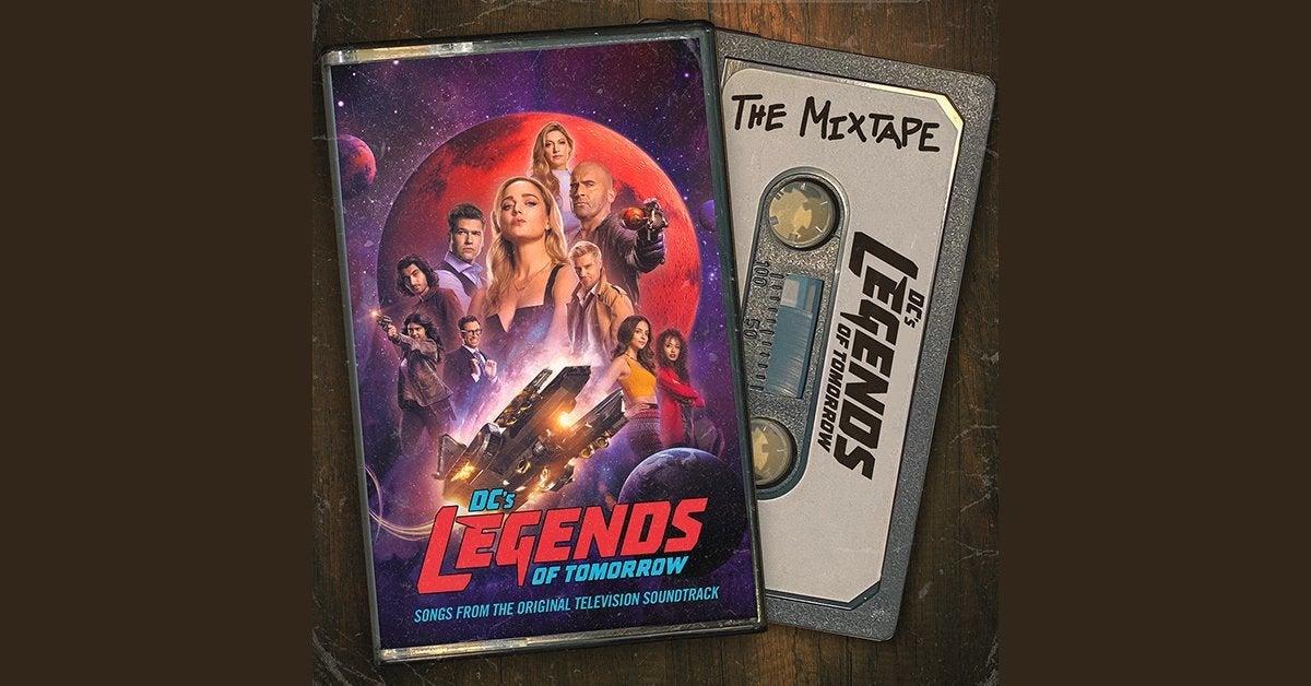 legends of tomorrow mixtape header
