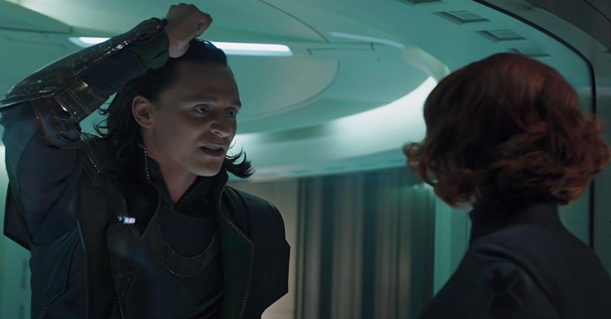 Loki Avengers Black Widow