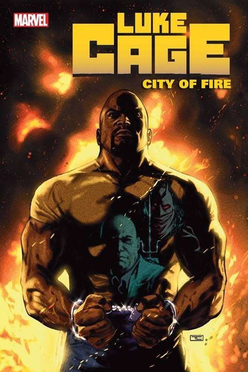 Luke Cage City Fire 1 Cover Art Preview Marvel