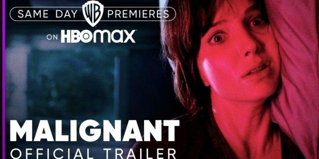 malignant trailer hbo max
