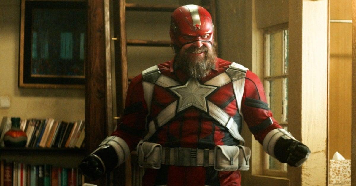 Marvel Black Widow David Harbour Red Guardian