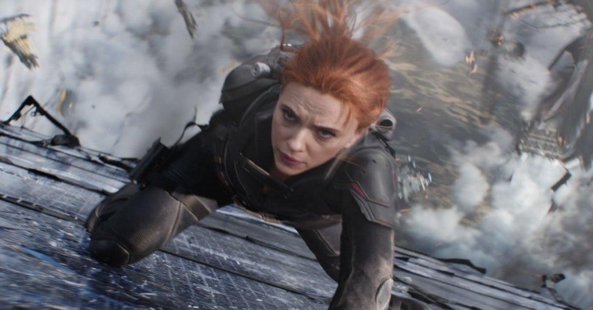 Marvel Black Widow Natasha Romanoff Scarlett Johansson