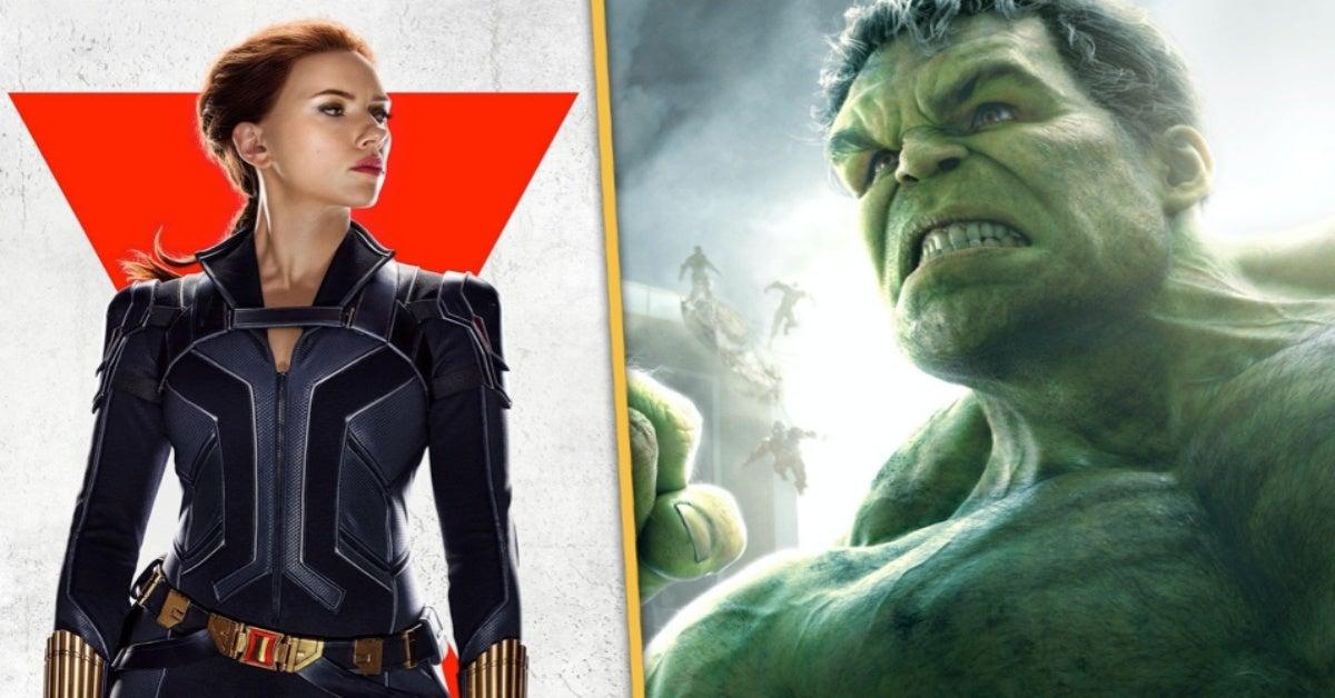 Marvel Black Widow Scarlett Johansson Mark Ruffalo Hulk