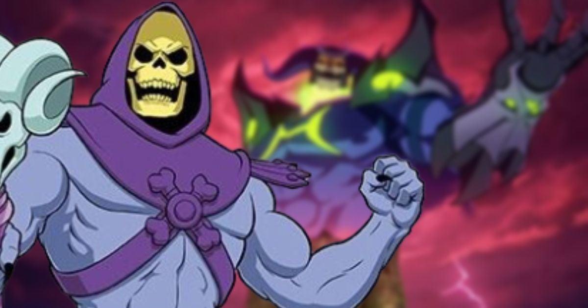 Masters of the Universe Revelation Skelegod Skeletor New Form Name Netflix Kevin Smith