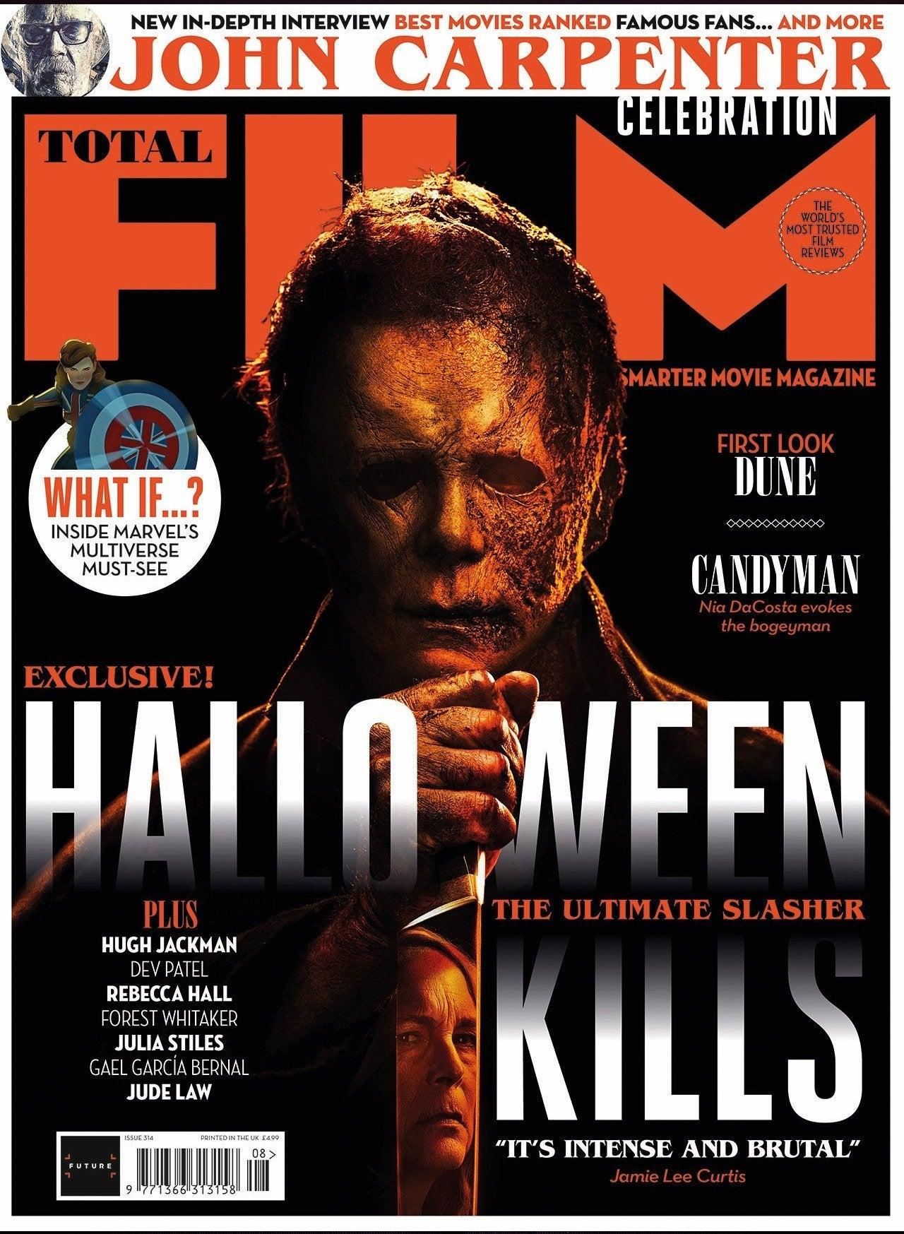 michael myers halloween kills mask total film cover 2