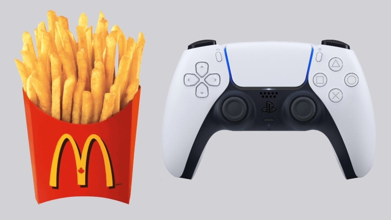 PlayStation and McDonald's Reveal Limited Edition PS5 Controller - ComicBook.com