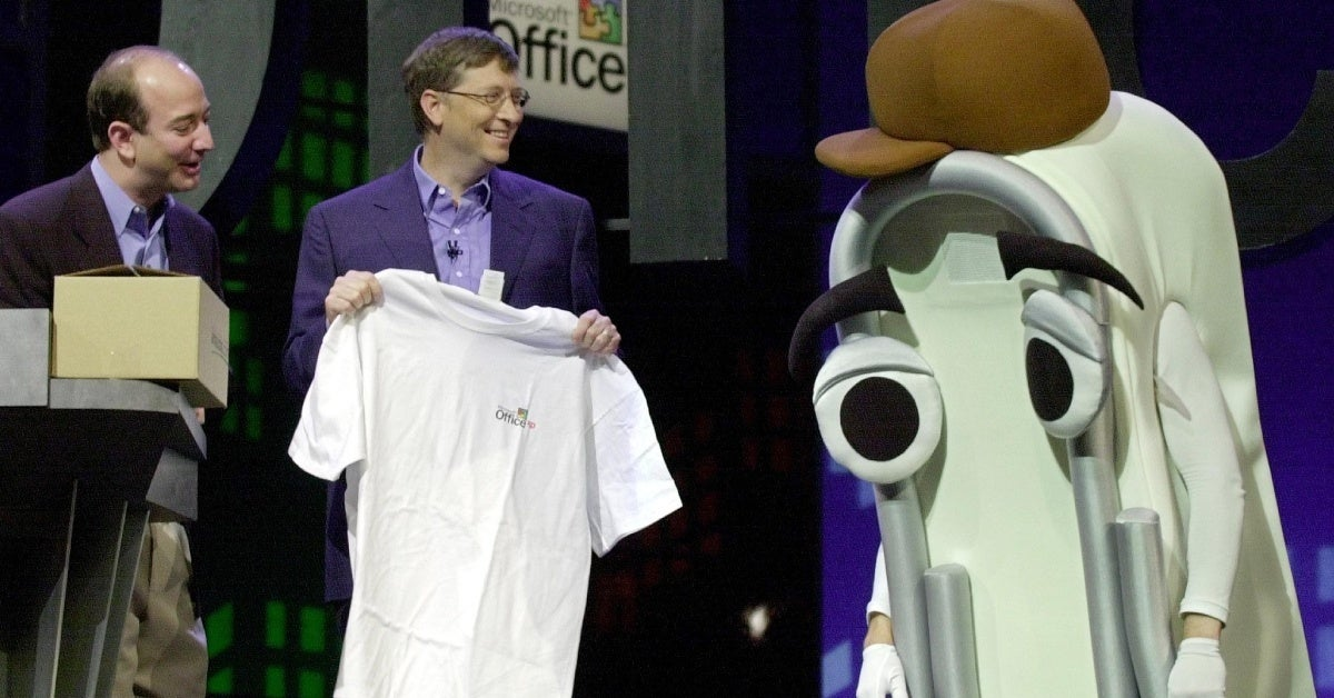 microsoft clippy getty images