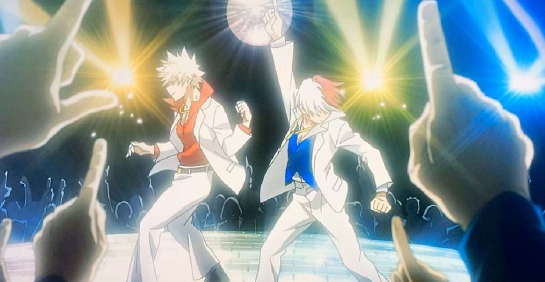 My Hero Academia Bakugo Todoroki Figures