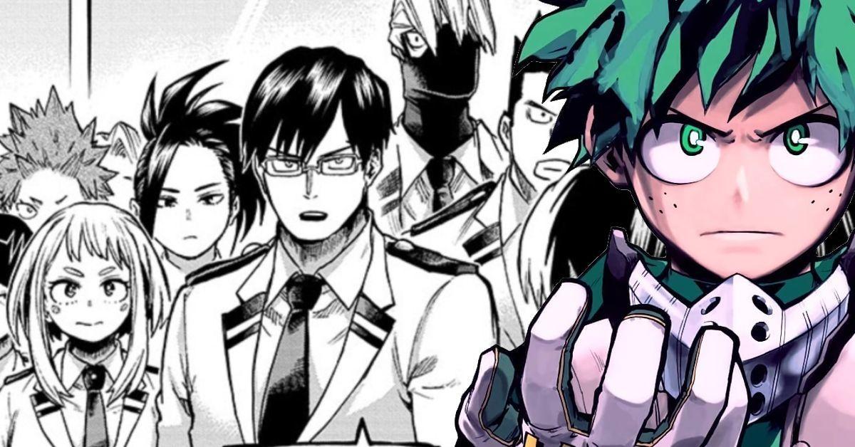 My Hero Academia Classe 1-A Deku Reunion Fight Manga Spoilers